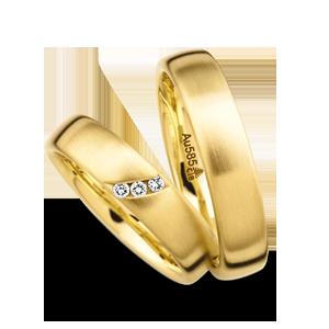 Snubni Prsteny Zlute C 66