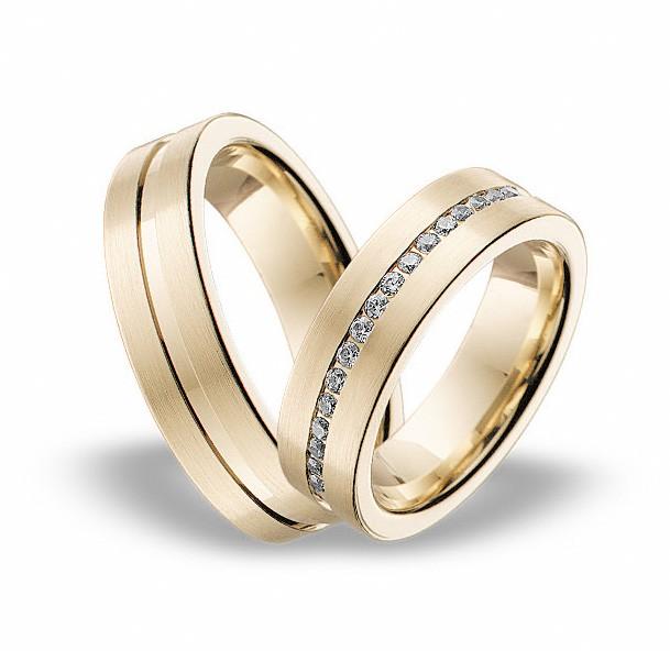 Snubni Prsteny Zlute 64