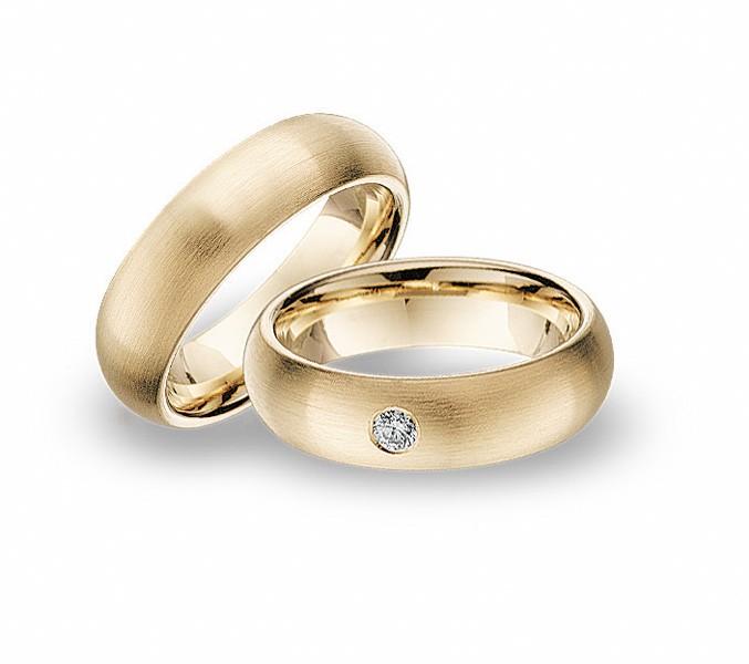 Snubni Prsteny Zlute C 73